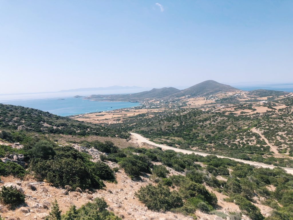 View from Antiparos cave
