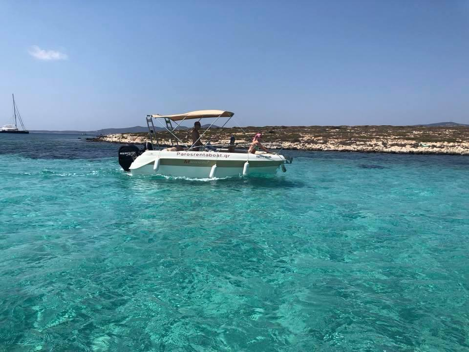Paros sailing tour
