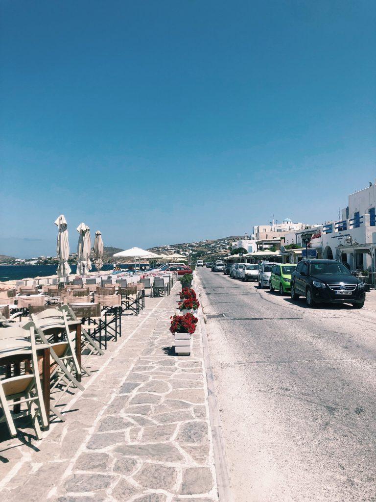 Paros Travel Guide: Parikia Port
