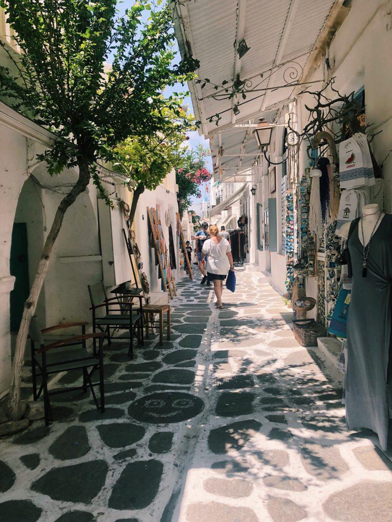 Paros travel guide: Parikia Town
