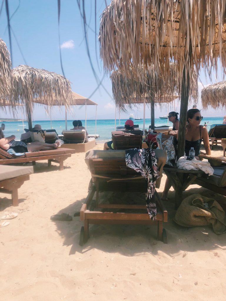 Beach club at Santa Maria
