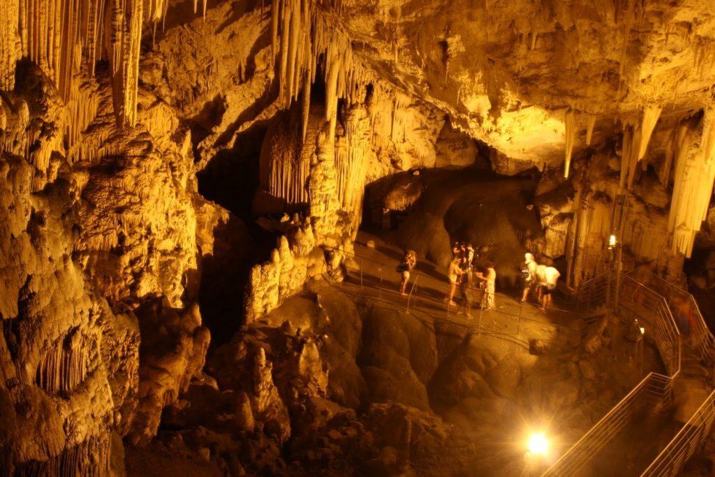 Inside Antiparos Cave