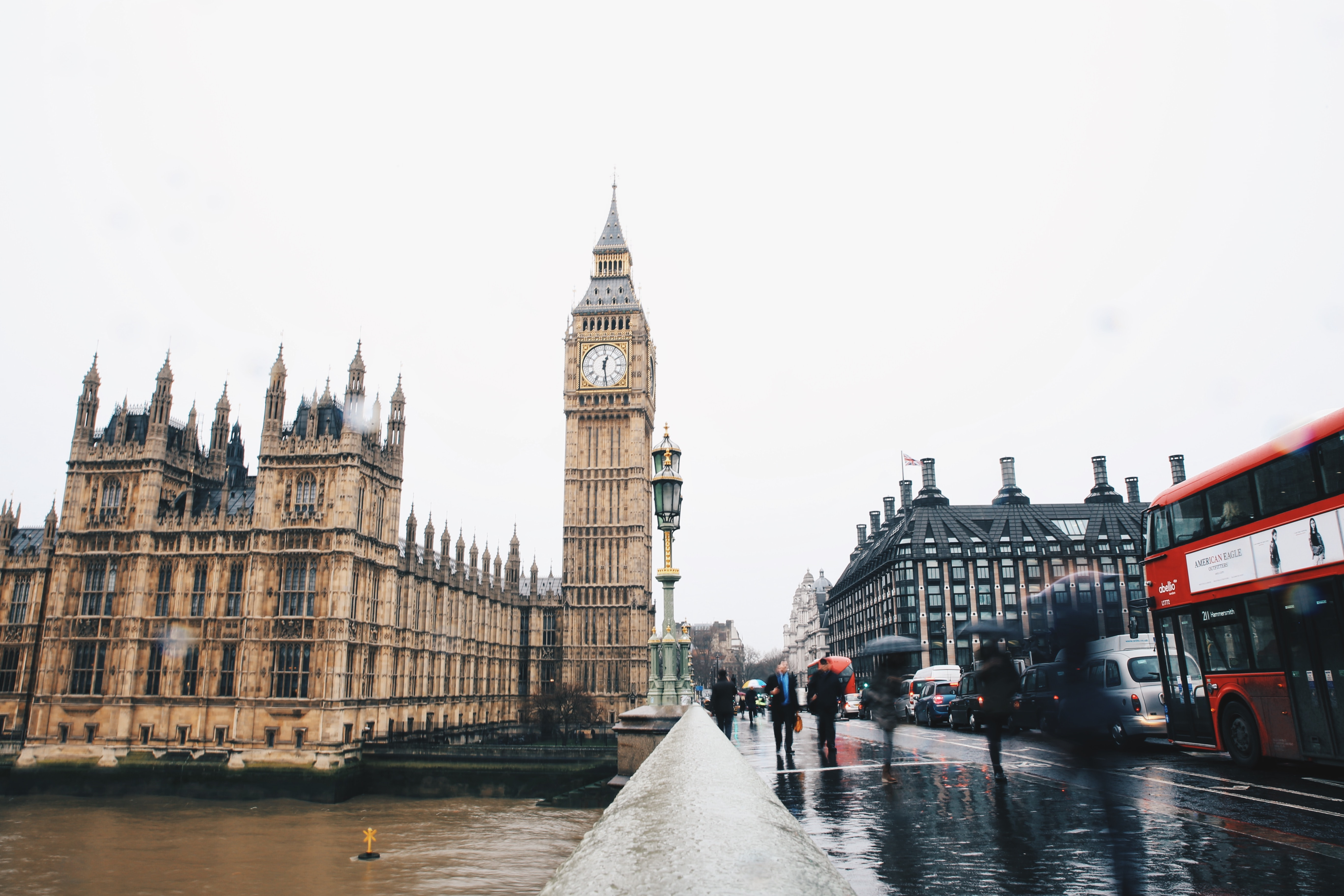 4 days London itinerary: the Big Ben
