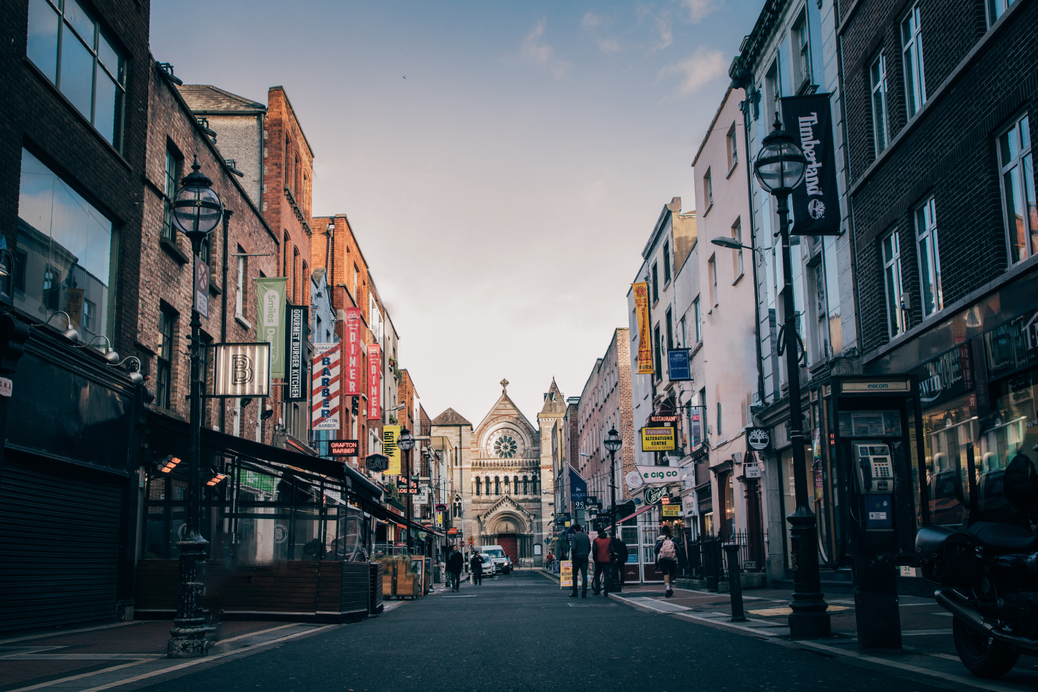Visit Anne Street during your 3 days in Dublin
