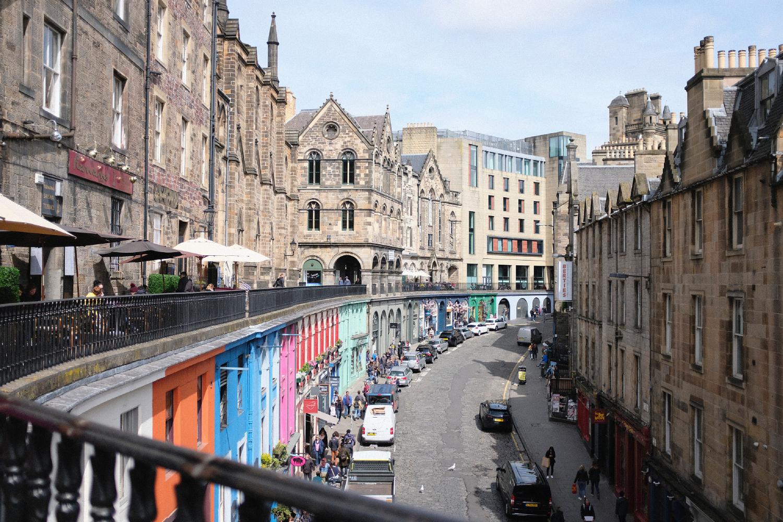 Edinburgh 3 day itinerary: Victoria Street